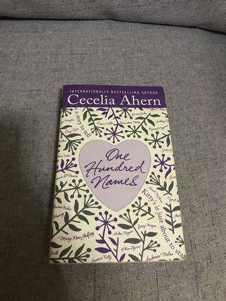 🚚 Cecilia Ahern - One Hundred Names