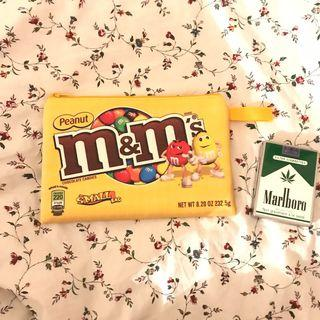 M&M printed pouch
