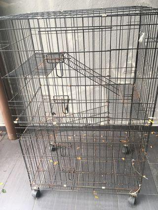 Cat Cage Sangkar Kucing Pet Cage