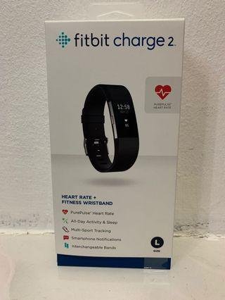 New Fitbit Charge 2 - XL Black