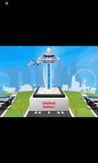 LEGO Changi Airport Control Tower LIMITED EDITION!