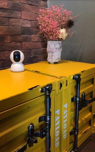 [New] Industrial Style Retro Container Bed Side Cabinet