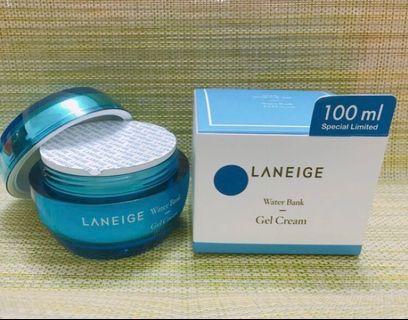 🚚 現貨 LANEIGE 蘭芝 水酷肌因智慧保濕凝凍 Water Bank Gel Cream 100ML