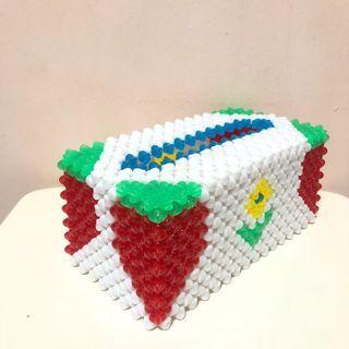 🚚 Beaded Tissue Box. FREE SHIPPING