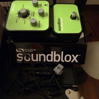 source audio tri-mod wah effect pedal guitar bass 吉他/貝斯 效果器