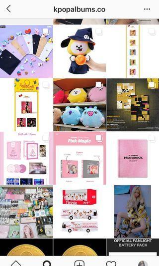 Korea Purchasing Service [Albums/Lightstick/Merchandise]