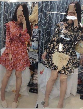 *Instock* Brand New Floral with Ruffles Dress