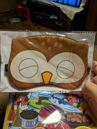 貓頭鷹眼罩