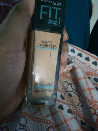 Maybelline Fit Me Foundation 128 warm nude
