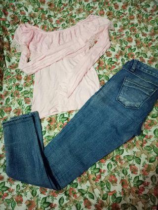Jeans dan Atasan