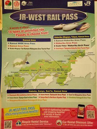 🚚 Jr west rail pass japan travel consultation