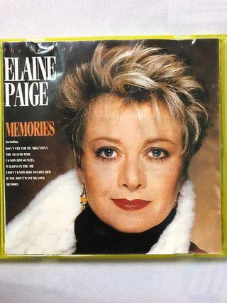 The Best Of Elaine Paige ~ Memories