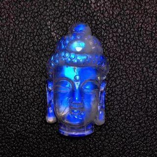 藍月光釋迦摩尼佛頭
