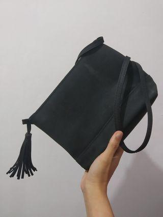 Black Clutch or sling bag