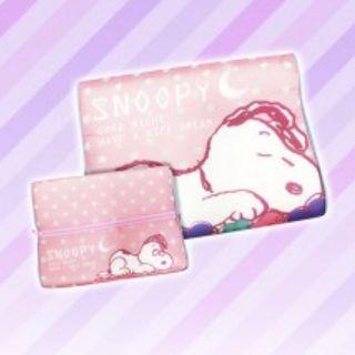 Snoopy 記憶枕頭 史努比 Memory Foam Pillow Toreba 日本直送