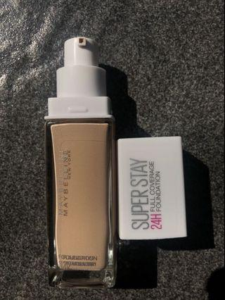 maybelline superstay 24 hours foundation