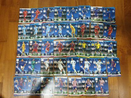 Champions League Adrenalyn XL 2014/15 Base Cards