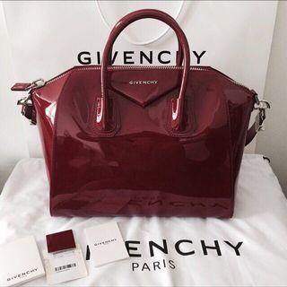 [New with receipt] Authentic Medium Givenchy Antigona in Patent Leather