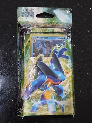 Pokemon TCG: Sun & Moon Celestial Storm Hydro Fury Theme