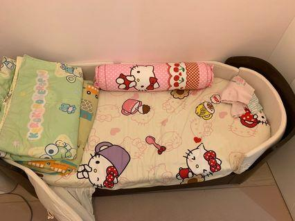 Leander Cot junior bed including mattress 多功能兒童牀