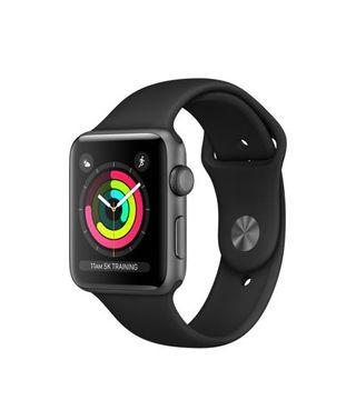 Apple Watch Series 3 Space Grey Aluminium Case with Black Sport Band 42mm