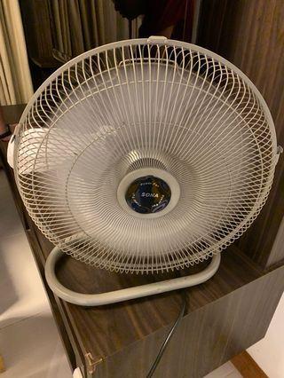 Sona 16 inch desk oscillating fan
