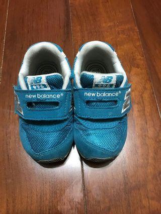 🚚 二手 New Balance NB魔鬼氈兒童復古學步鞋童鞋 運動鞋