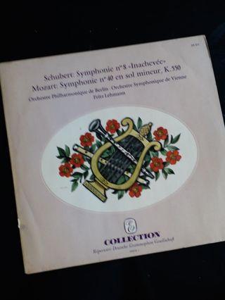 舒伯特〈未完成交响曲〉、莫扎特〈第40號交响曲〉