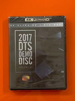 Bluray 2017 DTS Demo Disc 藍光碟