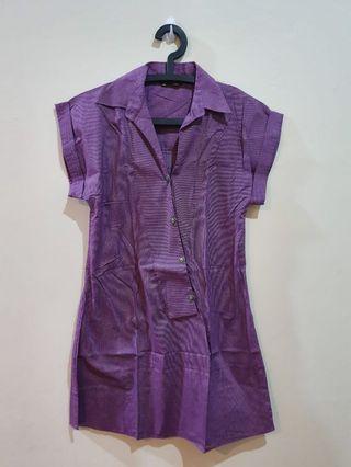 Purple Top muslim Shafira