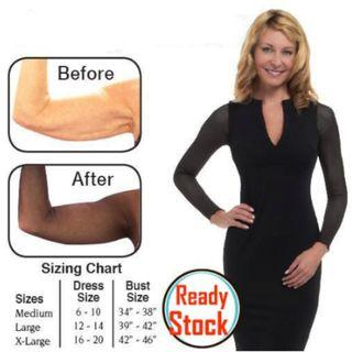 [NEW] Arm Sleeve Base Shirt Amazing Arms Slimmer Tights Slimming Arms Shaper