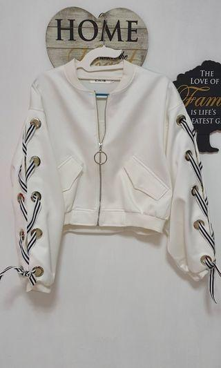 Trendy White Jacket
