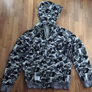 A Bathing Ape Bape and Stussy collaboration hoodie