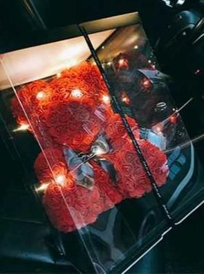 Instock Roses Bear F025