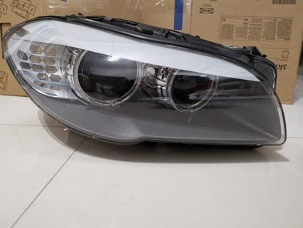BMW F10 headlights driver side.