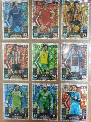 Match Attax 2013/14 Special Cards