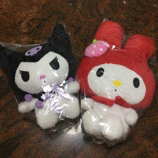 Melody & Kuromi plush