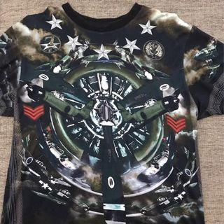 Rare Givenchy Jet fighter Tee shirt