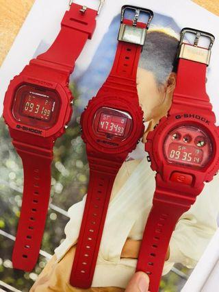 ⌚ Gshock RED OUT