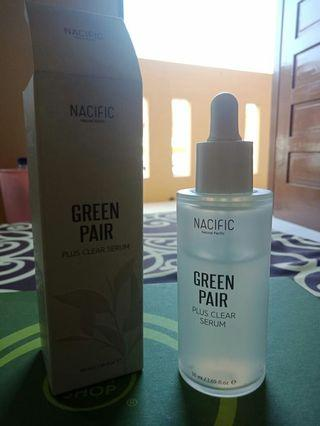 Nacific green pair plus clear serum