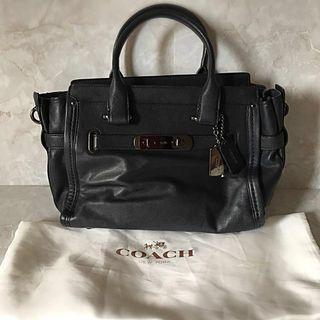 Authentic Coach Swagger 27 Navy Blue