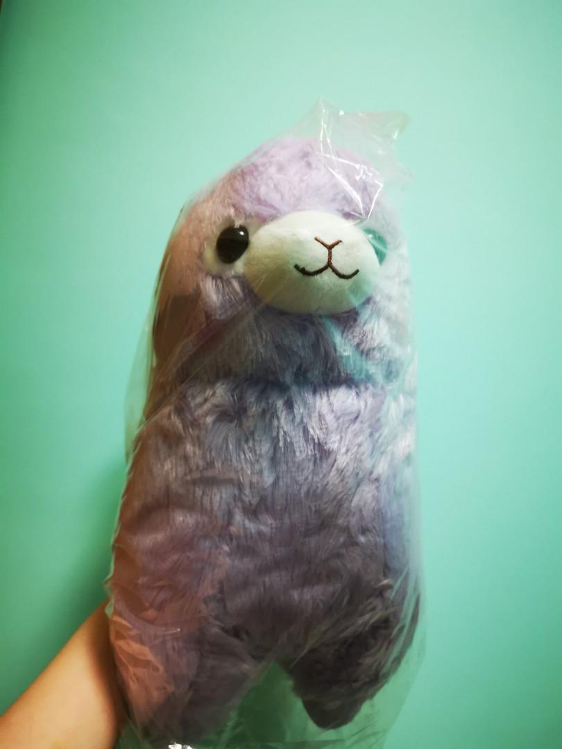 🦙草泥馬公仔(💜紫色)日本🦙
