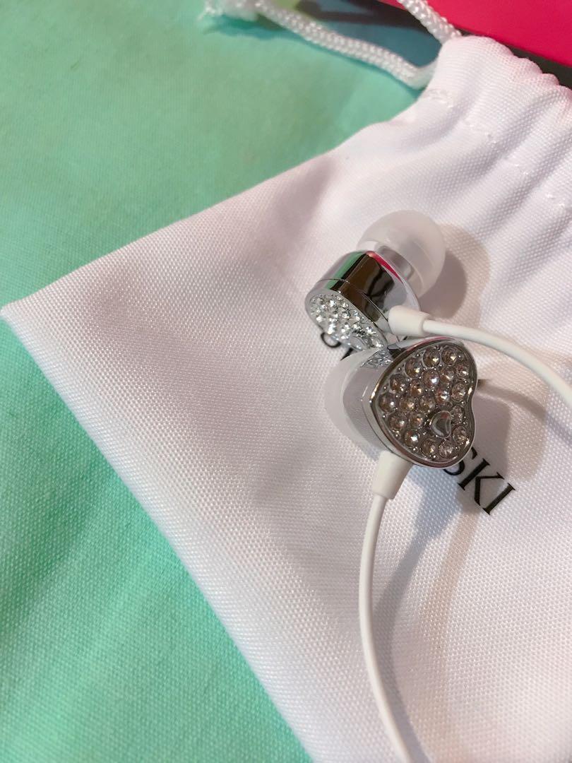 施華洛世奇水晶耳機