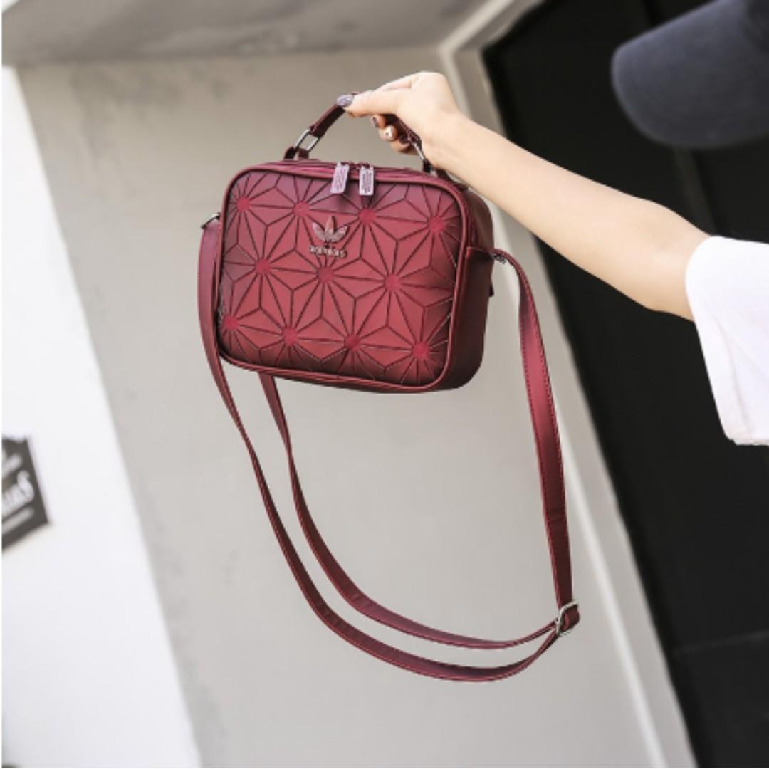 AUTHENTIC Adidas Sling Bag Women 3d Design