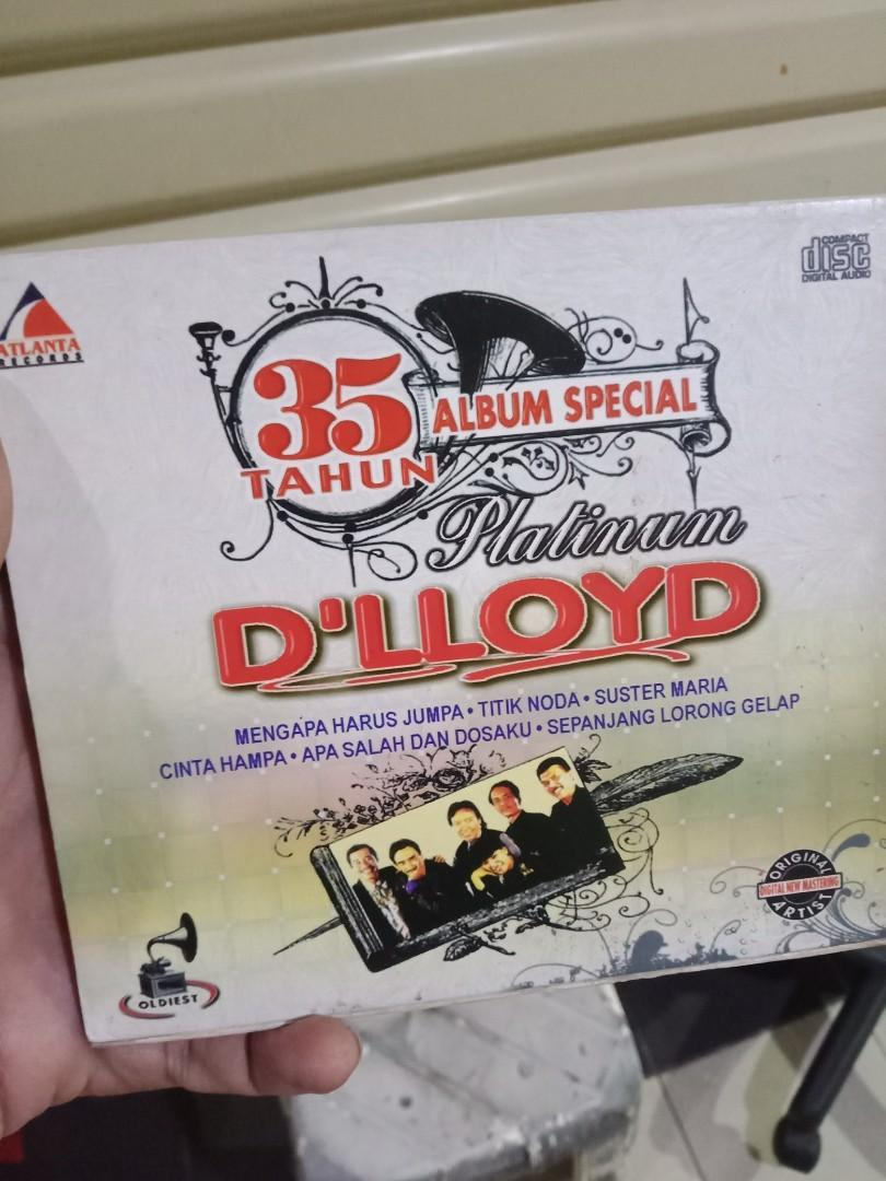 Cd original band D'lloyd 35 tahun anniversary