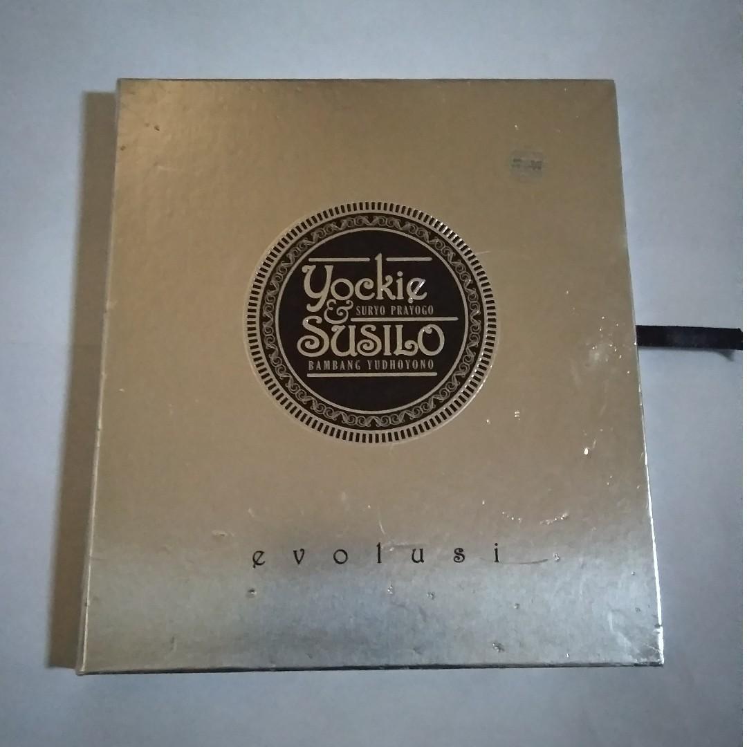 CD YOCKIE SURYO PRAYOGO & SUSILO BAMBANG YUDHOYONO - EVOLUSI