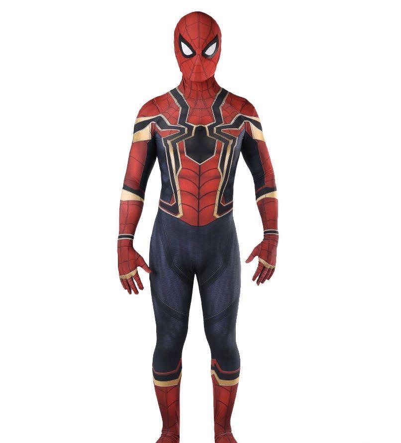 Custom Fit Spider-Man Iron Spidey Costume Suit