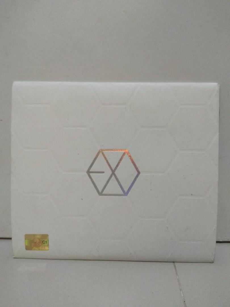 EXO MAMA ALBUM EXO-K VERSION