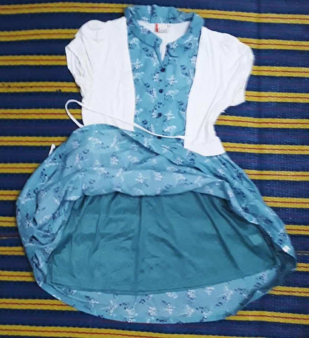 Fake 2-piece dress