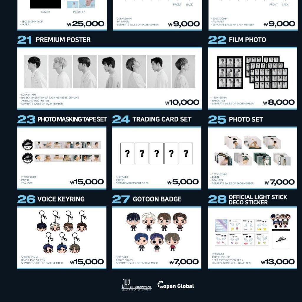 [FAST PO] GOT7 Keep Spinning 2019 World Tour Official Merchandise